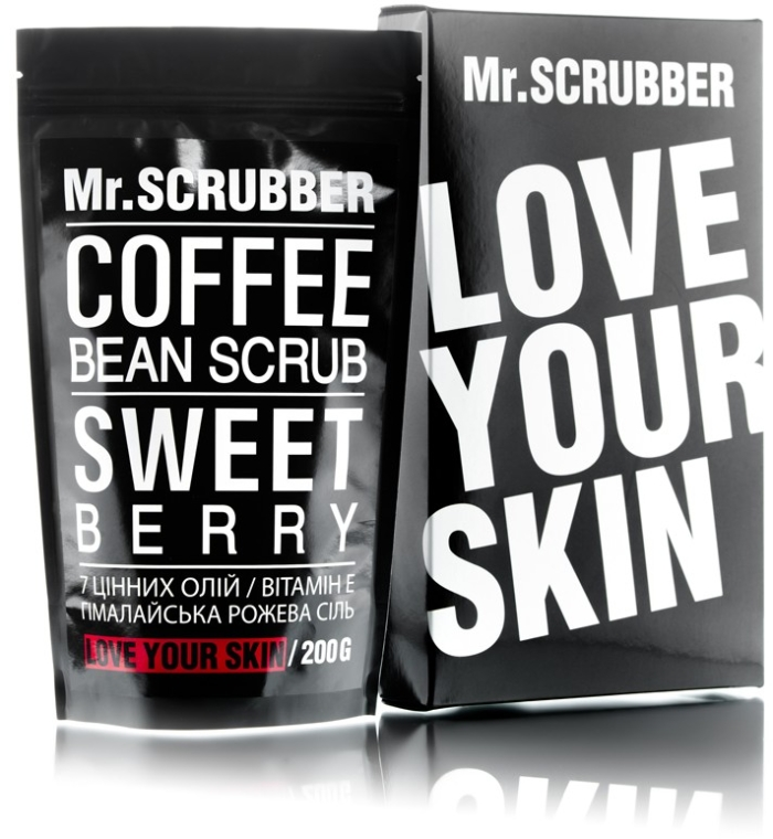 Кофейный скраб для лица и тела - Mr.Scrubber Sweet Berry Scrub