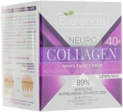 Увлажняющий крем-концентрат против морщин 40+ - Bielenda Neuro Collagen — фото N1