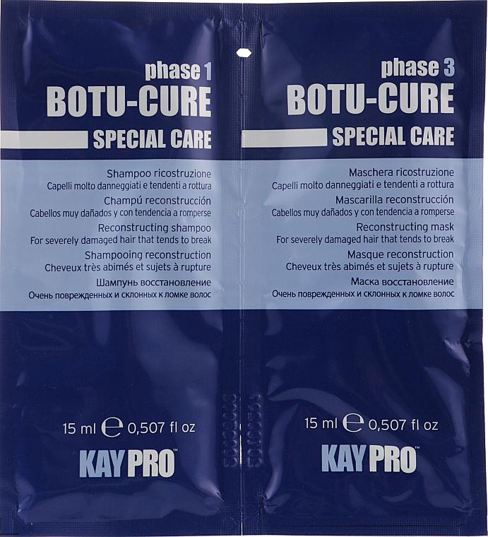 Набор - KayPro Special Care Botu-Cure (shmp/15ml + h/mask/15ml)