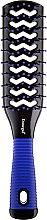 Духи, Парфюмерия, косметика Щетка для волос двухсторонняя, 9048, синяя - Donegal Vented Hair Brush