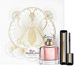 Духи, Парфюмерия, косметика Guerlain Mon Guerlain - Набор (edp/50ml + mascara/8,5ml)