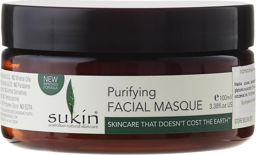 Очищающая маска для лица - Sukin Purifying Facial Masque
