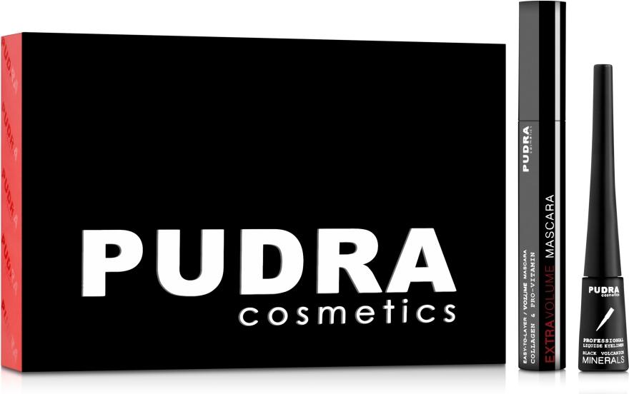 Набор - Pudra Try It Kit (mascara/10ml + pencil/3ml)