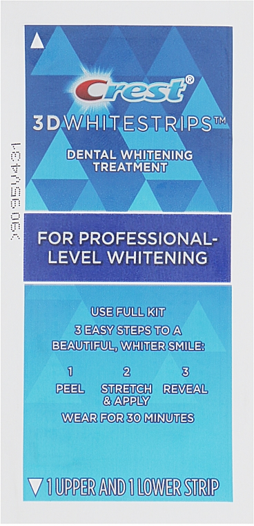 Отбеливающие полоски для зубов - Crest Whitestrips 3D Professional Effects