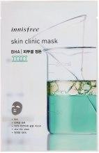 Духи, Парфюмерия, косметика Тканевая маска с салициловой кислотой - Innisfree Skin Clinic Mask