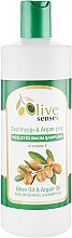 Духи, Парфюмерия, косметика Шампунь для сухих волос c оливковым и аргановым маслом - Selesta Senses Olive Oil & Argan Oil Shampoo
