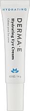 Духи, Парфюмерия, косметика Увлажняющий крем для век с пикногенолом - Derma E Hydrating Eye Cream