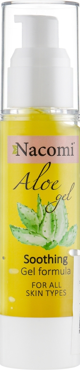 Сыворотка для лица с алоэ - Nacomi Aloe Face Gel Serum Intencive Sooting