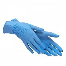 Духи, Парфюмерия, косметика Перчатки нитриловые текстурированные нестерильные неприпудренные, размер L (8-9) - Polix PRO&MED Sky Blue