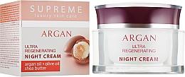 Духи, Парфюмерия, косметика Регенерирующий ночной крем для лица с аргановым маслом - BioFresh Supreme Ultra Regenerating Night Cream