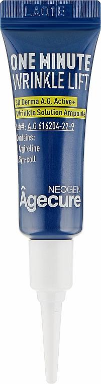 Ампулы для лица - Neogen Antiager One Minute Wrinkle Lift