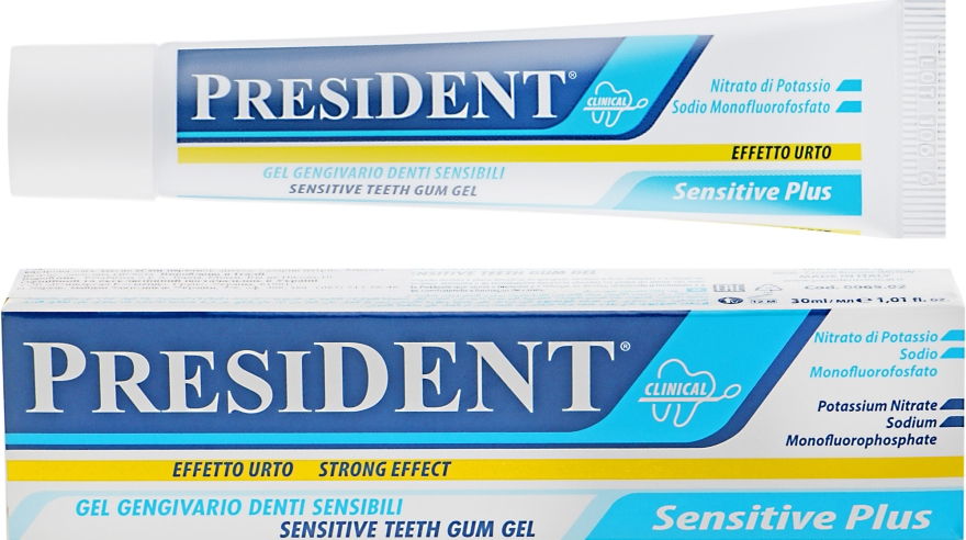 Гель для чувствительных зубов - PresiDent Sensitive Plus