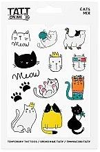 Духи, Парфюмерия, косметика Временные тату - TATTon.me Cats Mix Set
