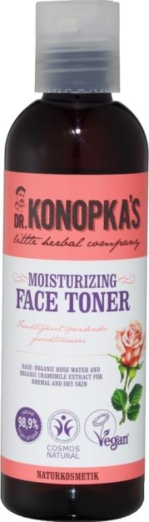 Тоник для лица увлажняющий - Dr. Konopka's Face Moisturizing Toner