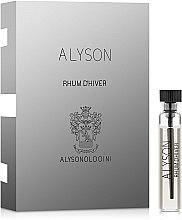 Духи, Парфюмерия, косметика Alyson Oldoini Rhum d Hiver - Парфюмированная вода (пробник)