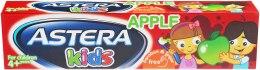 Духи, Парфюмерия, косметика Зубная паста со вкусом яблока - Astera Kids With Apple Flavour