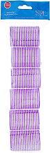 Духи, Парфюмерия, косметика Бигуди-липучки 0416, 41 мм, фиолетовые - SPL