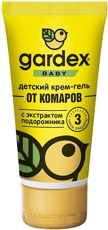 Детский крем-гель от комаров с защитой от солнца - Gardex Baby