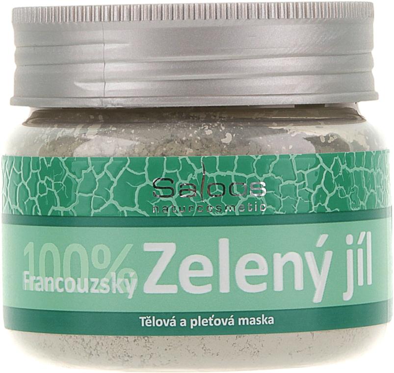 Французская зеленая глина для лица - Saloos French Green Clay