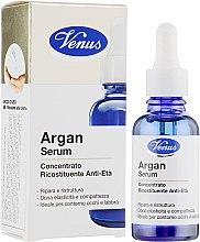 Антивозрастной восстанавливающий концентрат для лица с аргановой сывороткой - Venus Argan Serum — фото N1