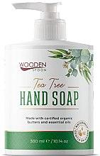 Духи, Парфюмерия, косметика Жидкое мыло «Чайное дерево» - Wooden Spoon Tea Tree Hand Soap