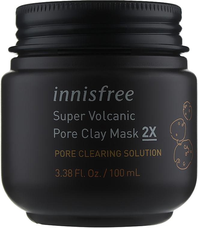Вулканическая маска для очищения пор - Innisfree Super Volcanic Pore Clay Mask