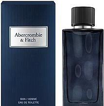 Парфумерія, косметика Abercrombie & Fitch First Instinct Blue - Туалетна вода