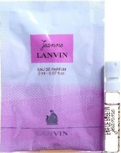 Духи, Парфюмерия, косметика Lanvin Jeanne Lanvin - Парфюмированная вода (пробник)