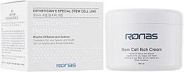 Духи, Парфюмерия, косметика Питательный крем на основе стволовых клеток - Ronas Stem Cell Rich Cream