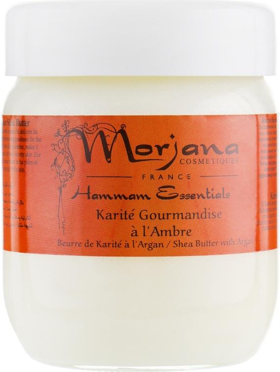 Масло ши с янтарем в эконом-упаковке - Morjana Refill Amber Shea Butter