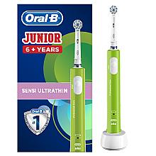 Парфумерія, косметика Електрична зубна щітка, дитяча, від 6 років - Oral-B Braun Junior