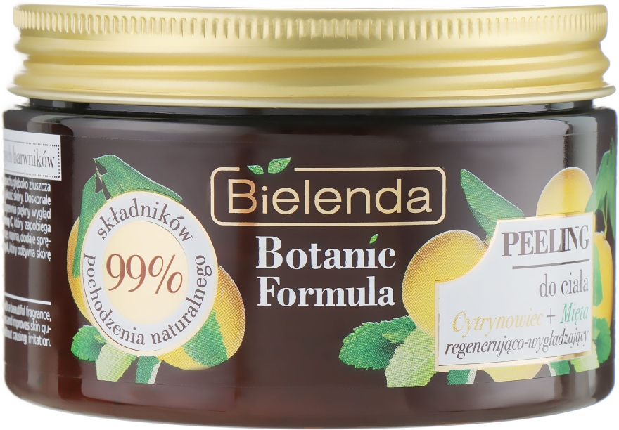 Скраб для тела - Bielenda Botanic Formula Body Scrub Lemon Tree & Mint