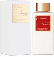 Духи, Парфюмерия, косметика Maison Francis Kurkdjian Baccarat Rouge 540 - Крем для тела
