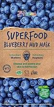 Духи, Парфюмерия, косметика Грязевая маска для лица с черникой - 7th Heaven Superfood Blueberry Mud Mask