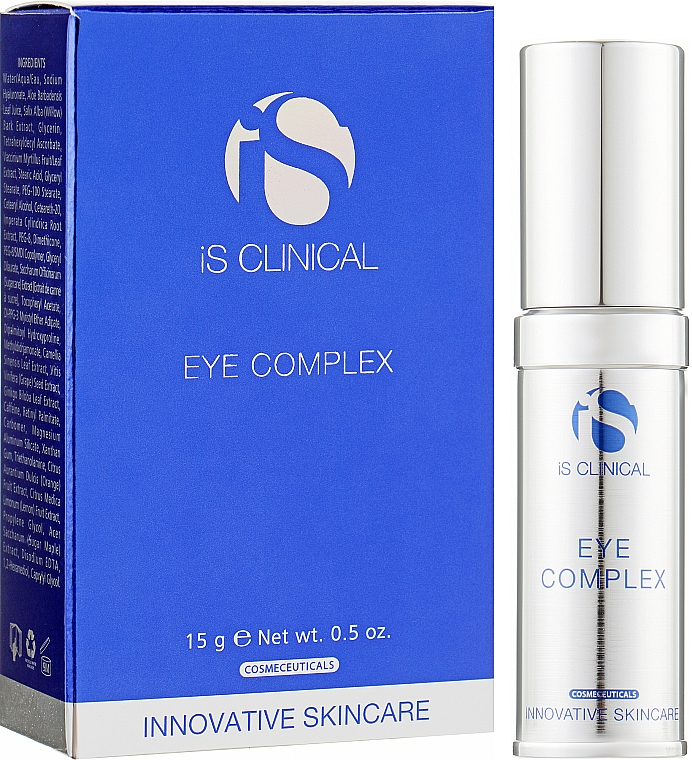 Крем для ухода вокруг глаз - iS Clinical Eye Complex — фото N2