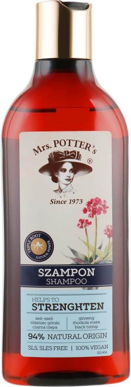 Шампунь укрепляющий - Mrs. Potter's Helps To Strenghten Shampoo