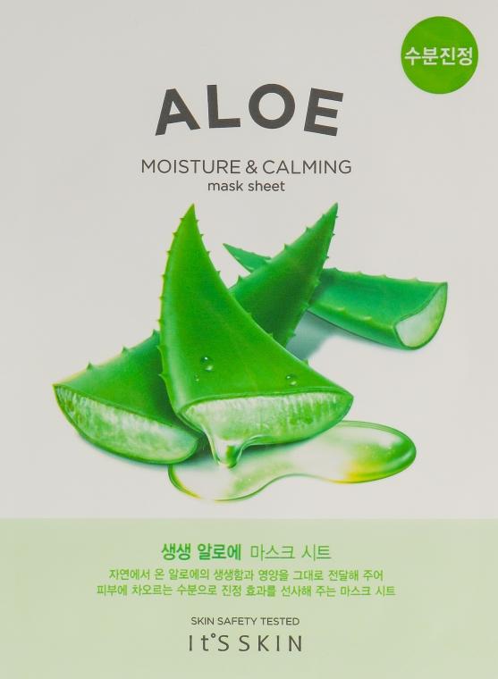 Тканевая маска - It's Skin The Fresh Aloe Mask Sheet