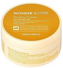Духи, Парфюмерия, косметика Крем для лица и тела - Tony Moly Wonder Butter Nutrition Cream