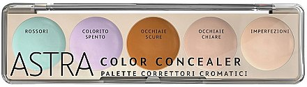 Палитра корректоров - Astra Make-Up Color Concealer Camouflage
