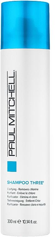 Шампунь для любого типа волос - Paul Mitchell Clarifying Shampoo Three