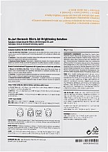 "Детокс-маска ""Капсула Красоты"" - Dr. Jart+ Dermask Brightening Solution Ultra-Fine Microfiber Face Sheet Mask — фото N2"