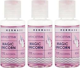 Духи, Парфюмерия, косметика Набор - Mermade Magic Unicorn (hand/gel/3x80ml)