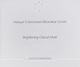 Духи, Парфюмерия, косметика Осветляющая маска для лица - Hormeta HormeWhite Brightening Glacial Mask