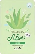Духи, Парфюмерия, косметика Тканевая маска для лица - Skin79 Fresh Garden Mask Aloe