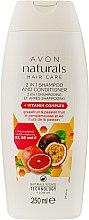Духи, Парфюмерия, косметика Шампунь-ополаскиватель 2 в 1 с витаминным комплексом - Avon Naturals Hair Care