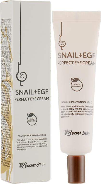 Крем для глаз с экстрактом улитки - Secret Skin Snail Perfect Eye Cream