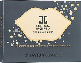 Духи, Парфюмерия, косметика Гелевый патч для губ - Jayjun Gold Snow Lip Gel Patch
