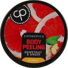 Духи, Парфюмерия, косметика Сахарный пилинг для тела c ароматом грейпфрута и имбиря - Cosmepick Body Peeling Grapefruit & Ginger