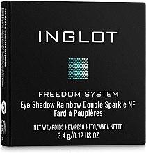Тени для век тройные - Inglot Freedom System Eye Shadow Rainbow Double Sparkle — фото N2