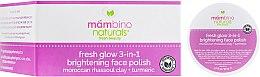 "Духи, Парфюмерия, косметика Скраб для лица ""Сияние свежести"" - Mambino Organics Fresh Glow 3in1 Brightening Face Polish"